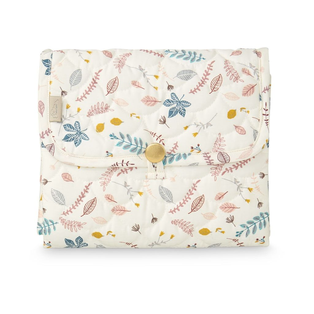CAM CAM - Nomadic quilted changing mat / Pink leaves