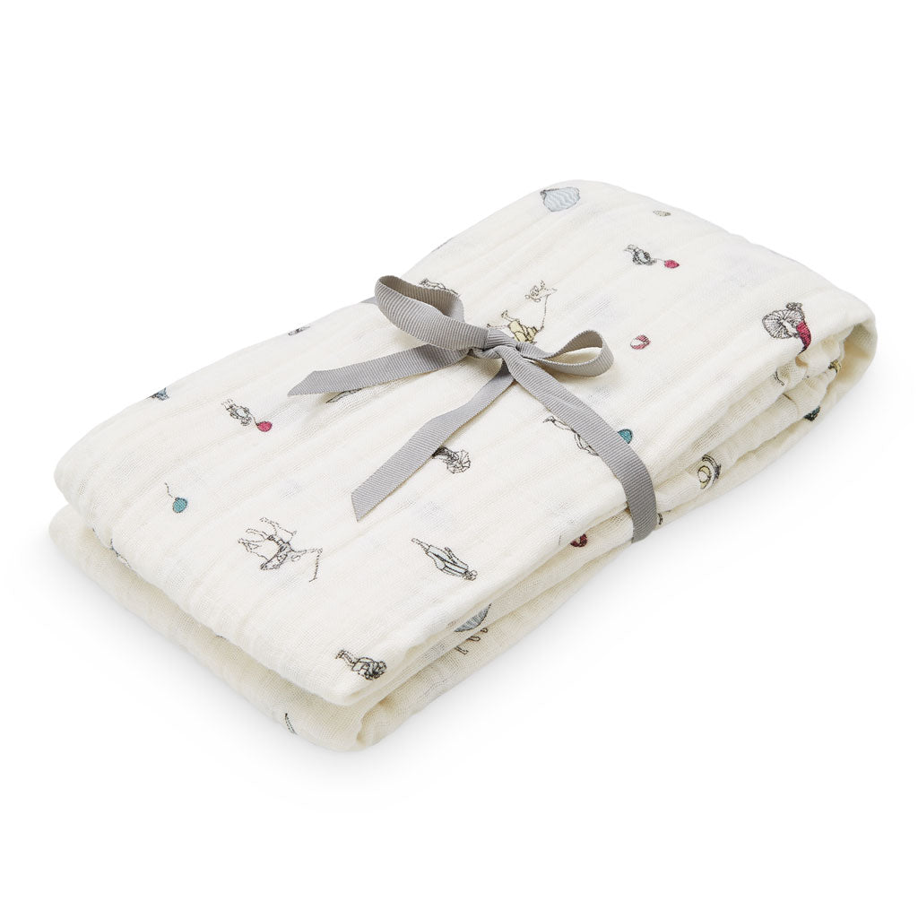 CAM CAM - Lange xl in organic cotton muslin / Holiday