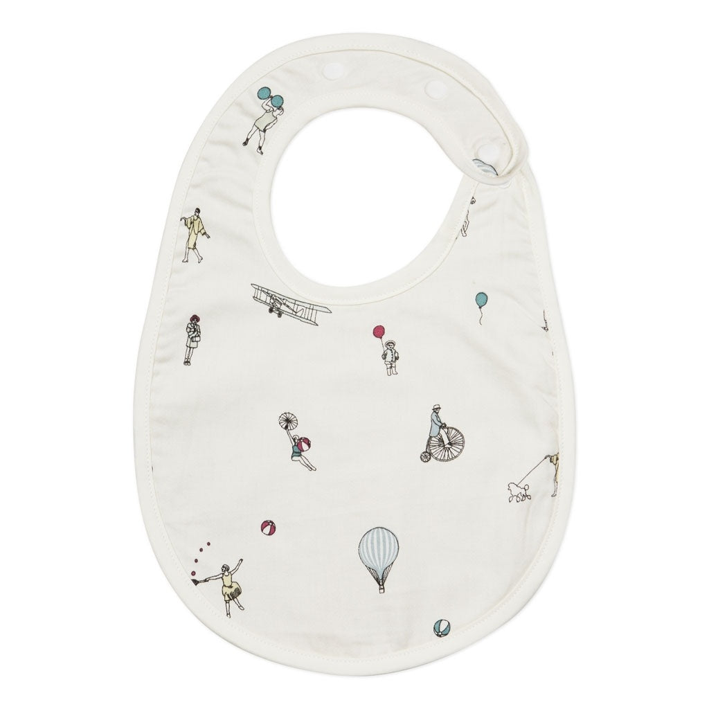 CAM CAM - Organic cotton bib / Holiday