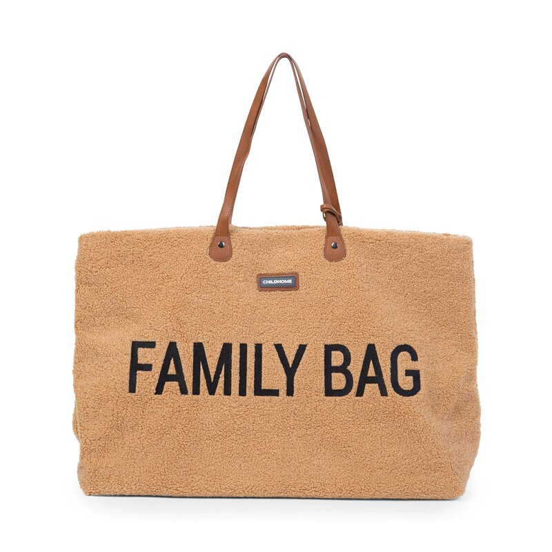 CHILDHOME - Sac à langer Family Bag / Teddy Beige