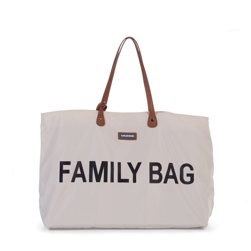 CHILDHOME - Sac à langer Family Bag / Ecru et Noir