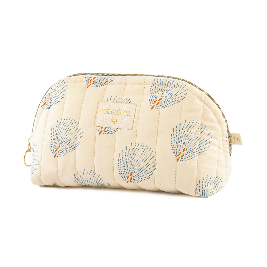 NOBODINOZ - Trousse de toilette Holiday Small / Blue Gatsby Cream
