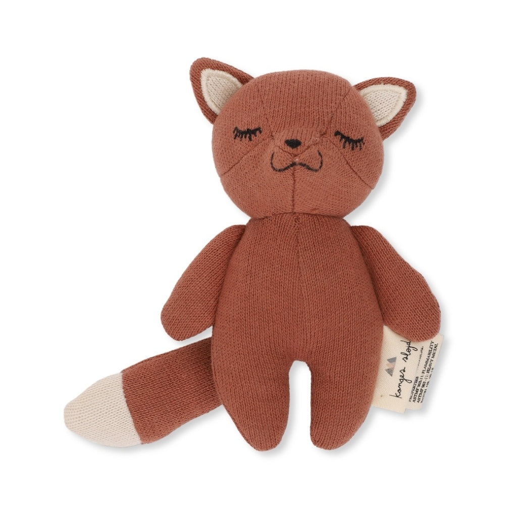 KONGES SLOJD - Doudou mini renard / Toffee
