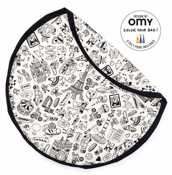PLAY AND GO - Sac / tapis de jeux / Omy Paris