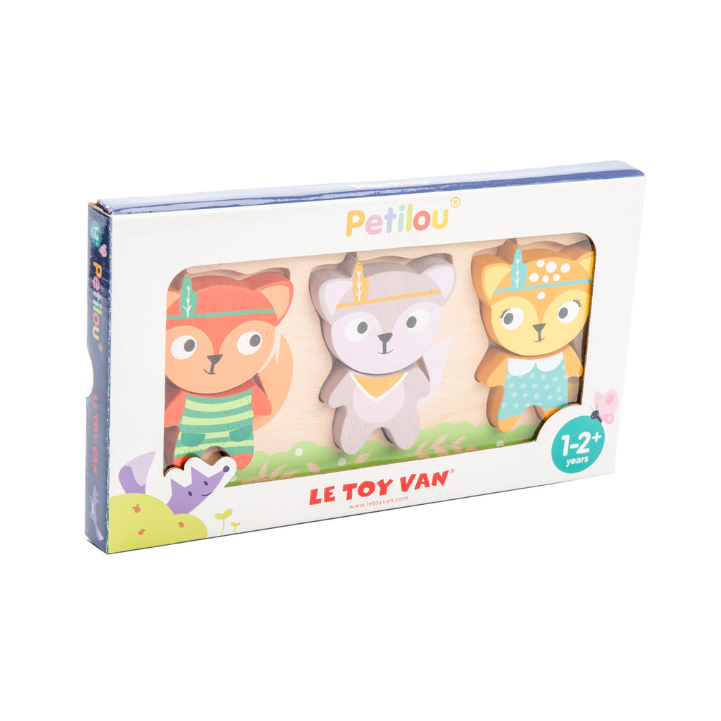 LE TOY VAN - Puzzle Little Fox.