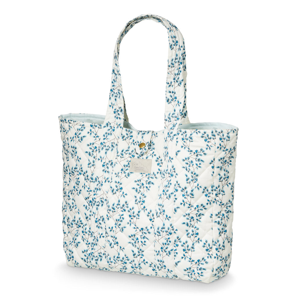 CAM CAM - Organic cotton quilt bag / Fiori