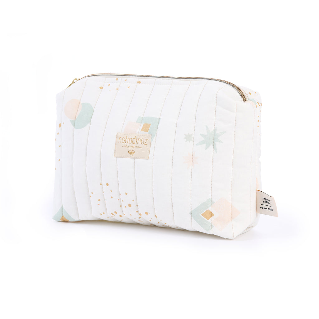NOBODINOZ - Trousse de toilette Travel Aqua Eclipse / White