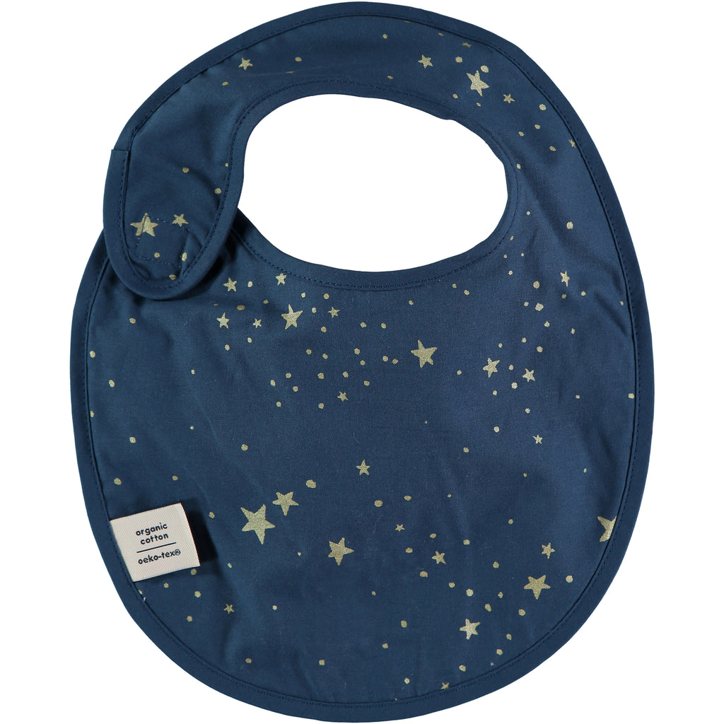 NOBODINOZ - Bavoir Candy Gold Stella / Night Blue