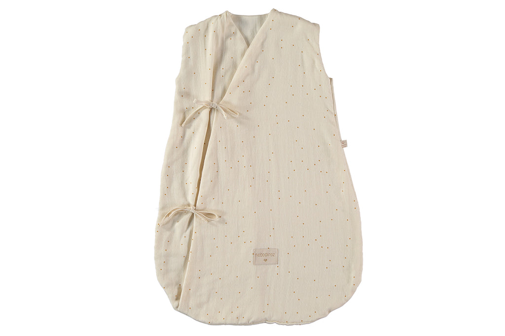 NOBODINOZ: Dreamy Honney Sweet Dots / Natural Summer Sleeping Bag