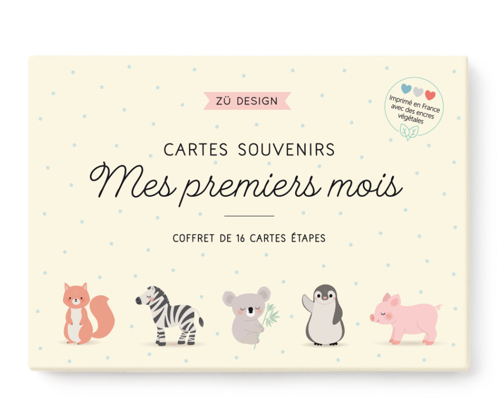 "ZÜ-Box "" My first months "" Animals"