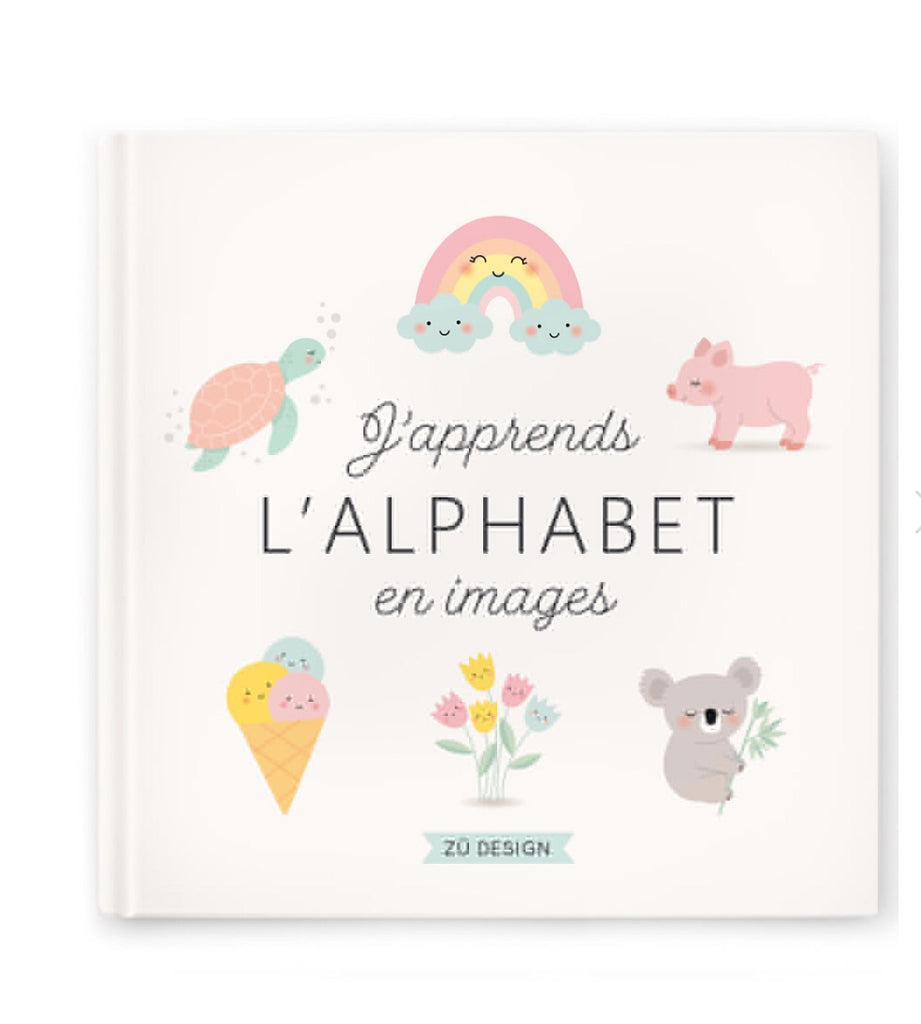 "ZÜ - Book ""I learn the alphabet in pictures"""