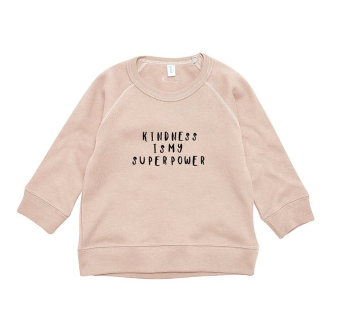 ORGANIC ZOO - Sweat-shirt « Kindness » Clay