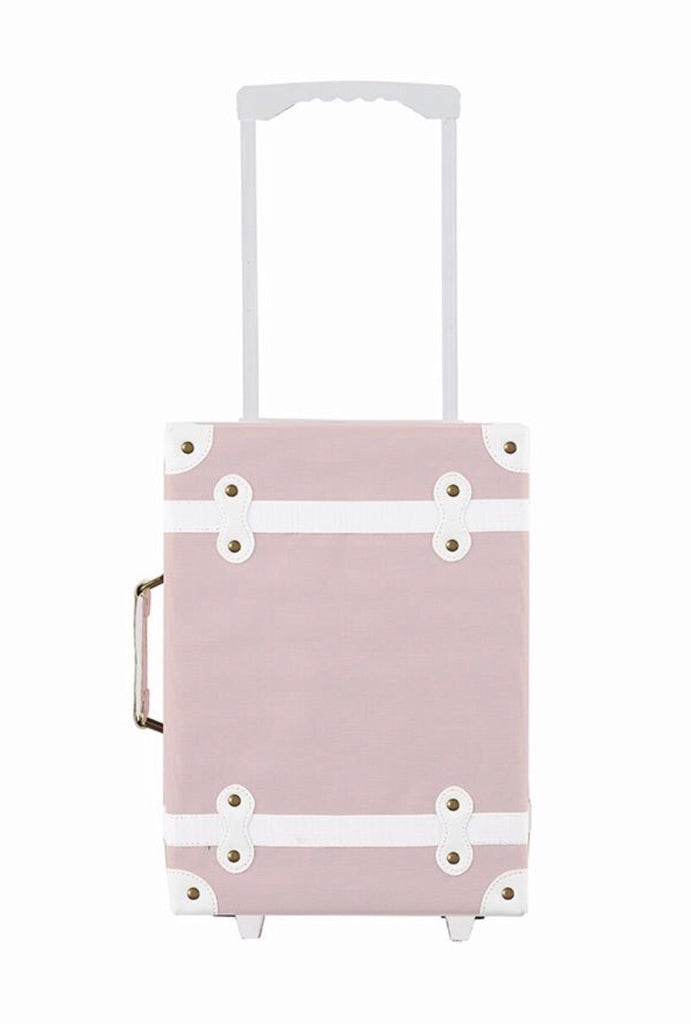 OLLI ELLA - Suitcase with castors See-Ya - Rose