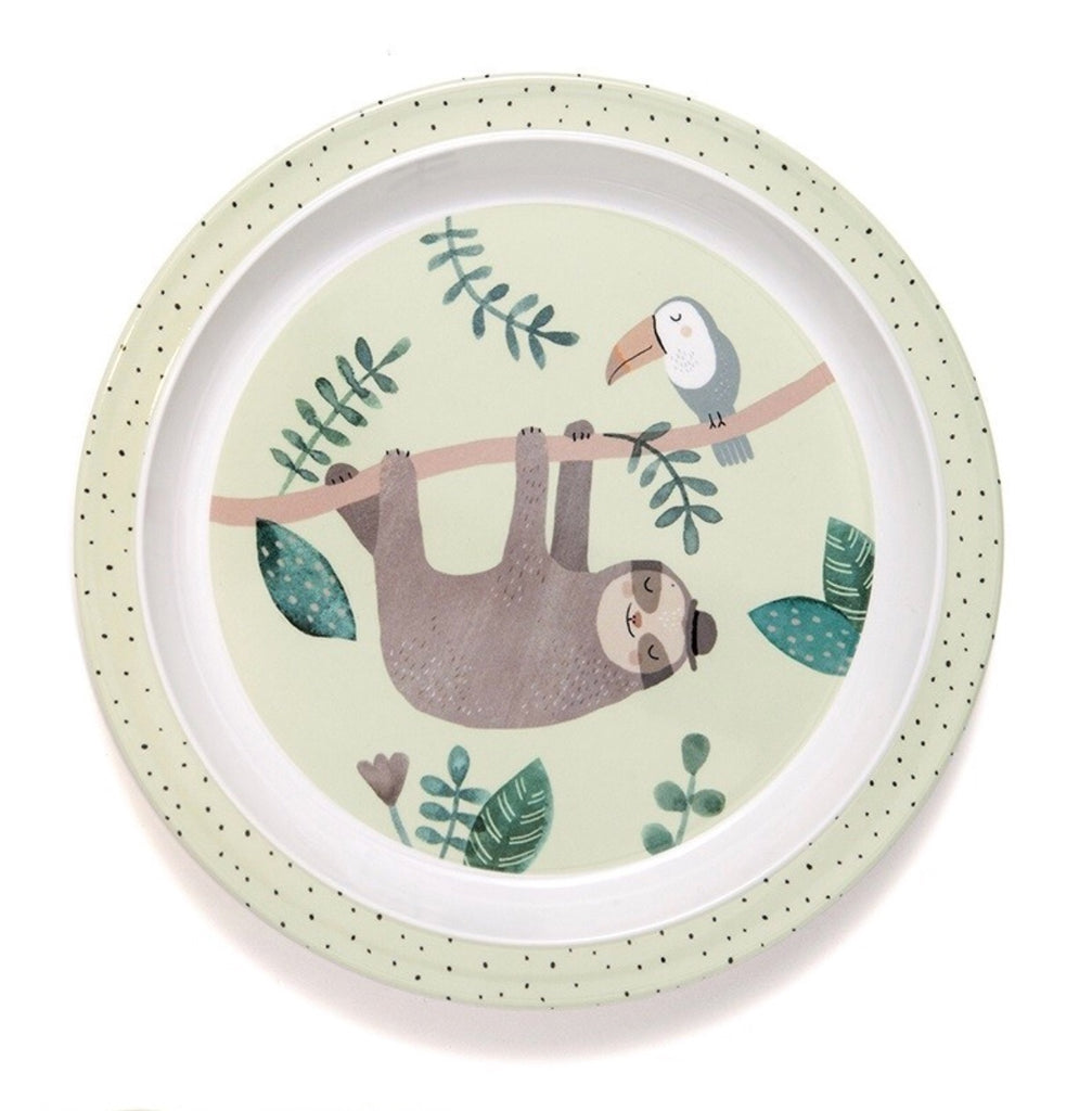 "PETIT MONKEY - ""lazy"" plate"