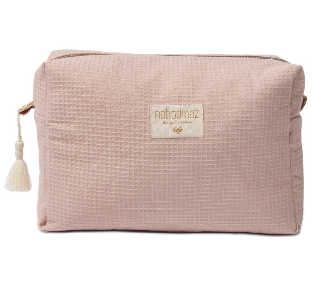 NOBODINOZ - Diva Misty pink toiletry bag
