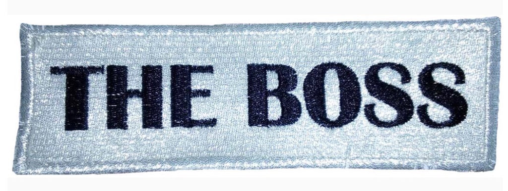 POMKIN - Patch « The boss »