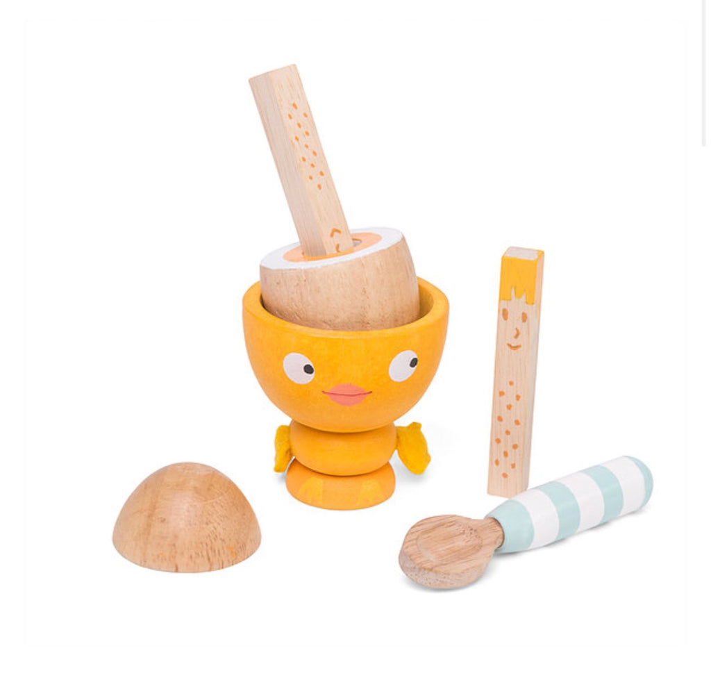 LE TOY VAN - Chick egg cup speelset