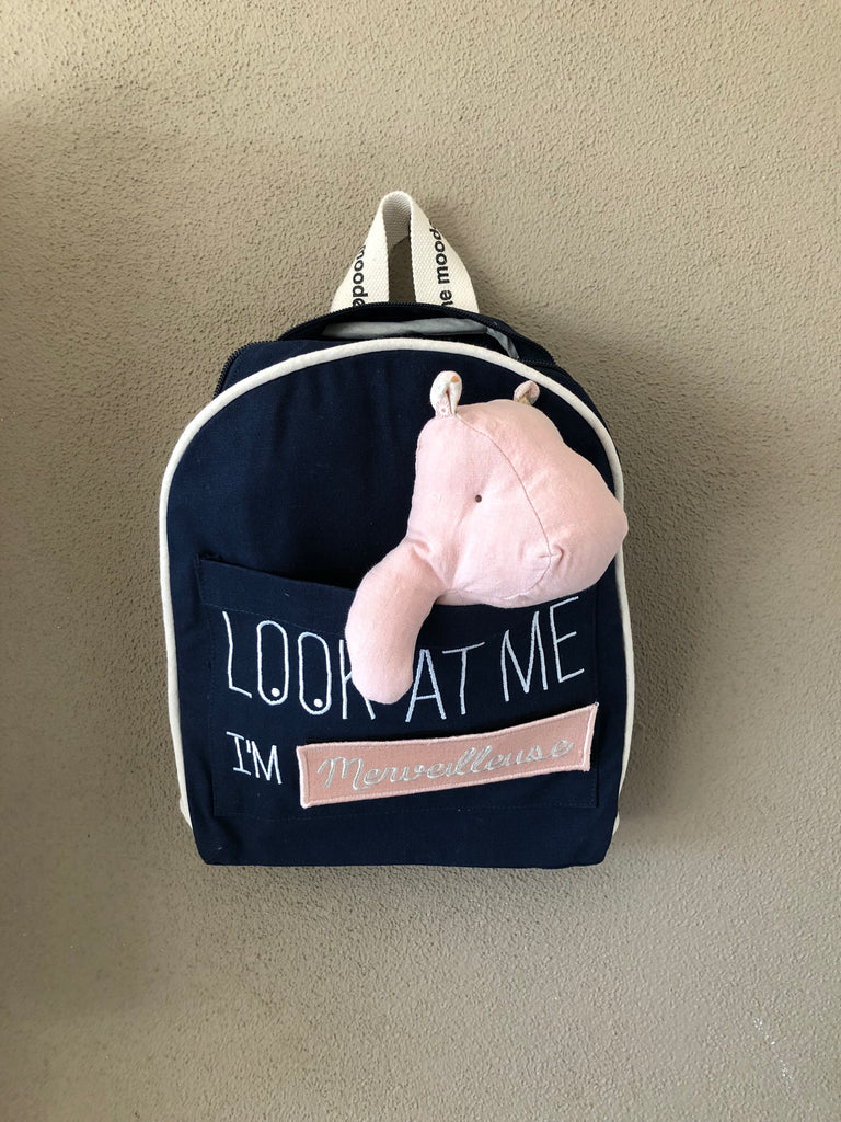 POMKIN - Customizable navy backpack