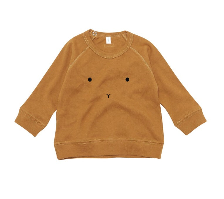 ORGANIC ZOO - Sweat-shirt « Bunny » Spice