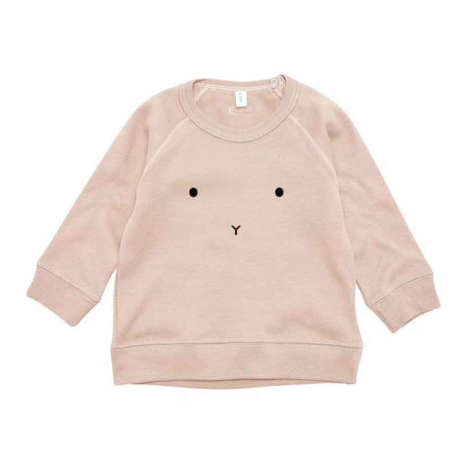 ORGANIC ZOO - sweat-shirt « Bunny » Clay