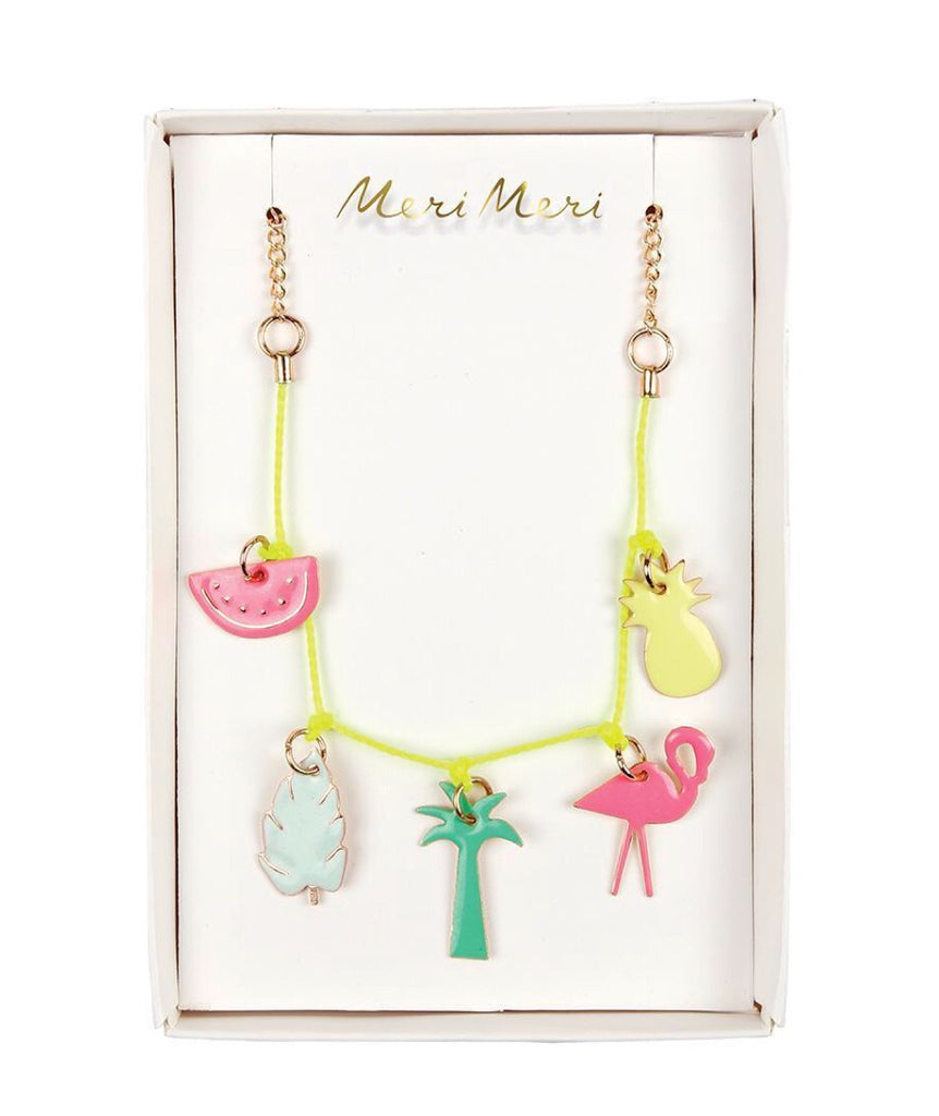 "MERI MERI - ""Tropical"" necklace"