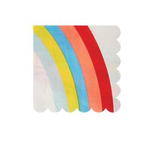 MERI MERI - Rainbow Napkins - Set of 20