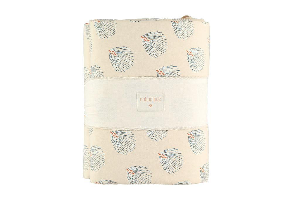 NOBODINOZ - Tour de lit Nest Blue Gatsby /Cream