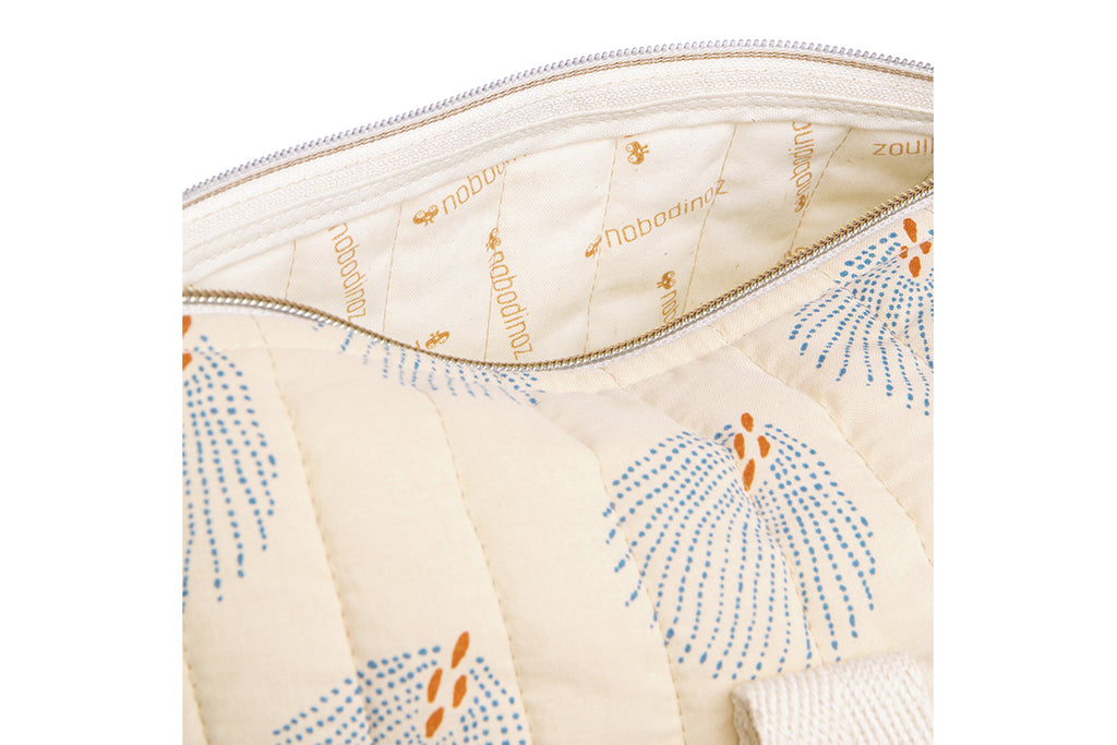 NOBODINOZ - Sac Week-end New York / Blue Gatsby Cream