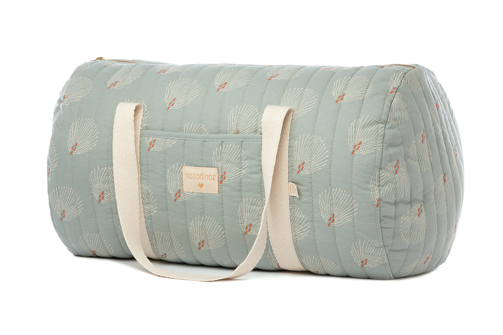 NOBODINOZ - Sac Week-end New York / White Gatsby Antique Green