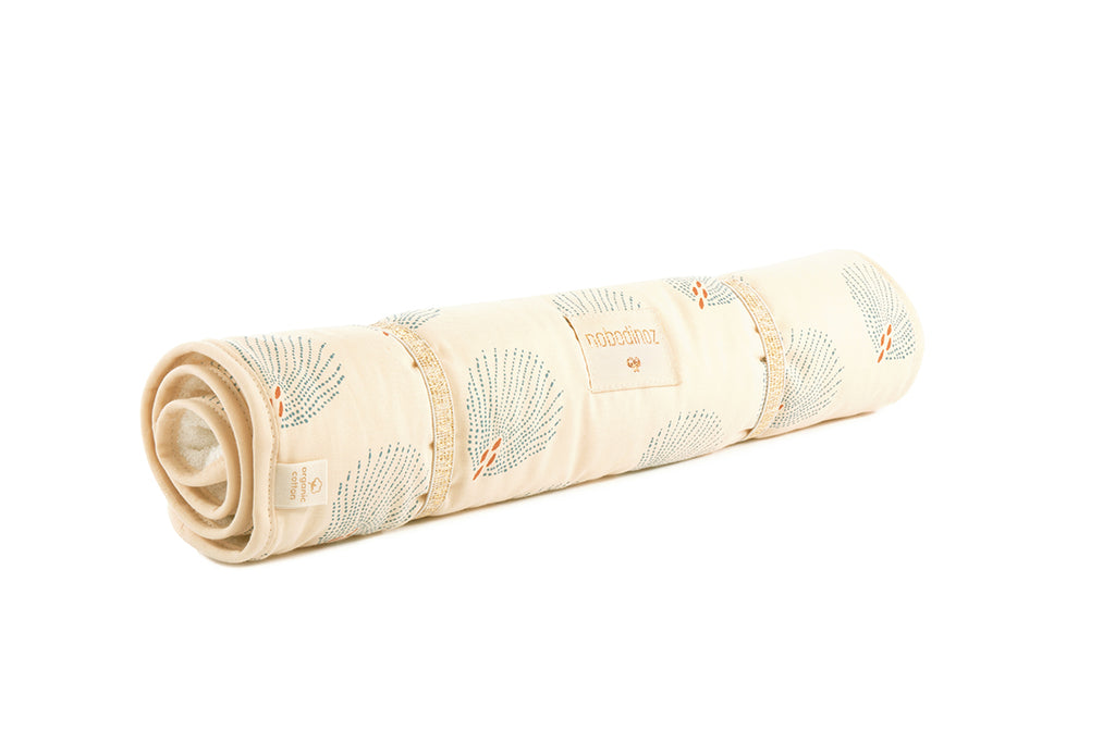 NOBODINOZ - Nomad Blue Gatsby / Cream changing mat