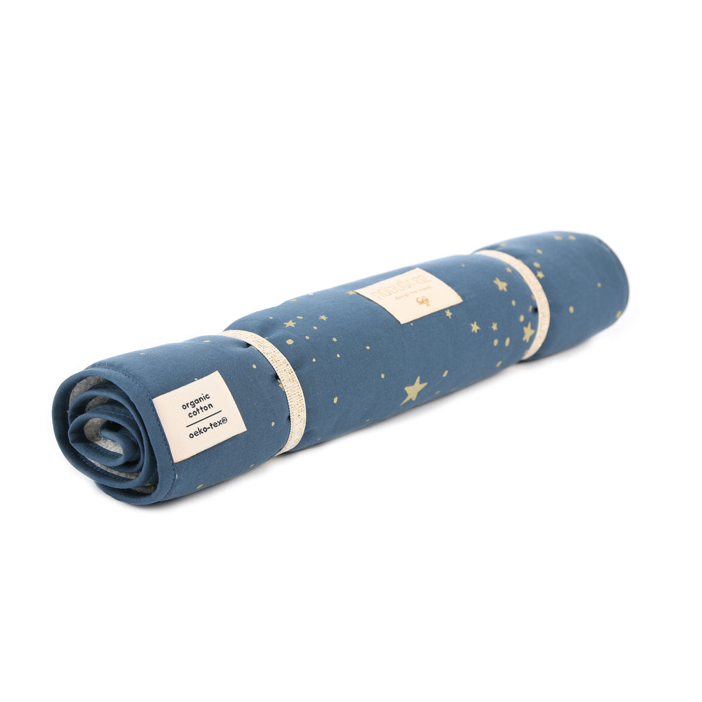 NOBODINOZ - Nomad Gold Stella / Night Blue Changing Matelas
