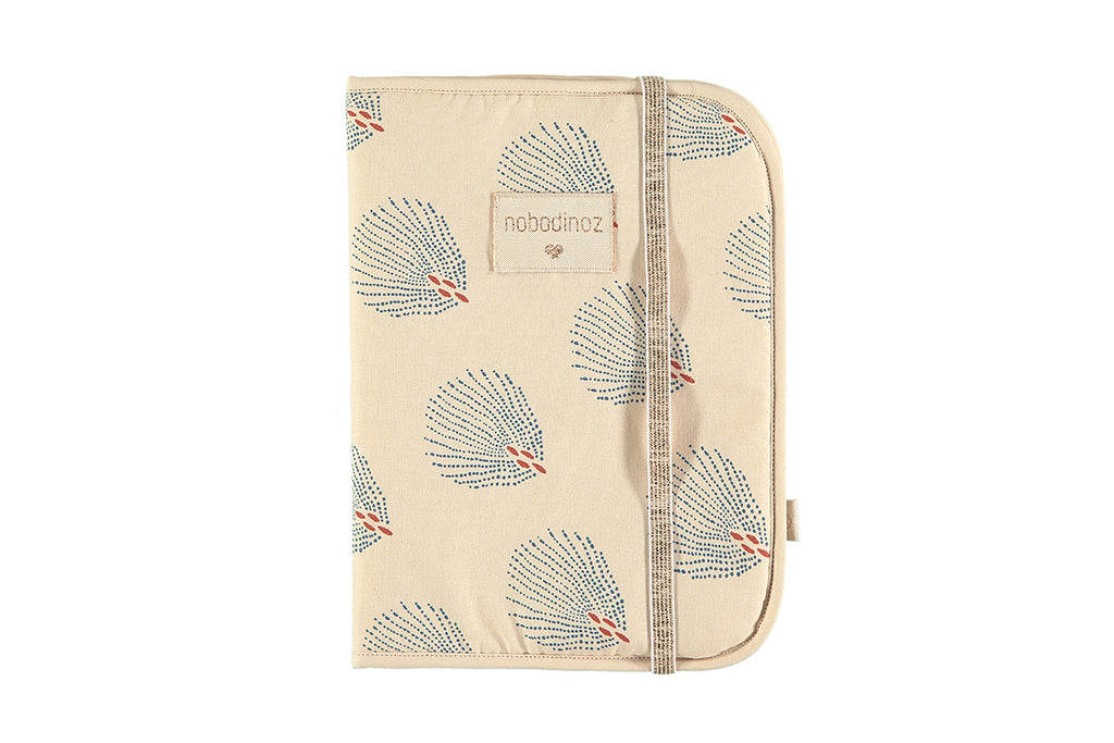 NOBODINOZ - Protects Poema Blue Gatsby / Cream Health Notebook