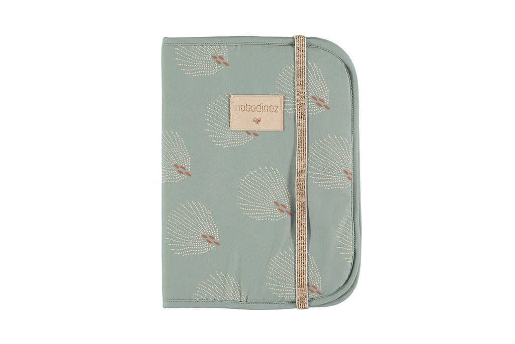 NOBODINOZ - Protects Poema White Gatsby / Antique Green Health Book