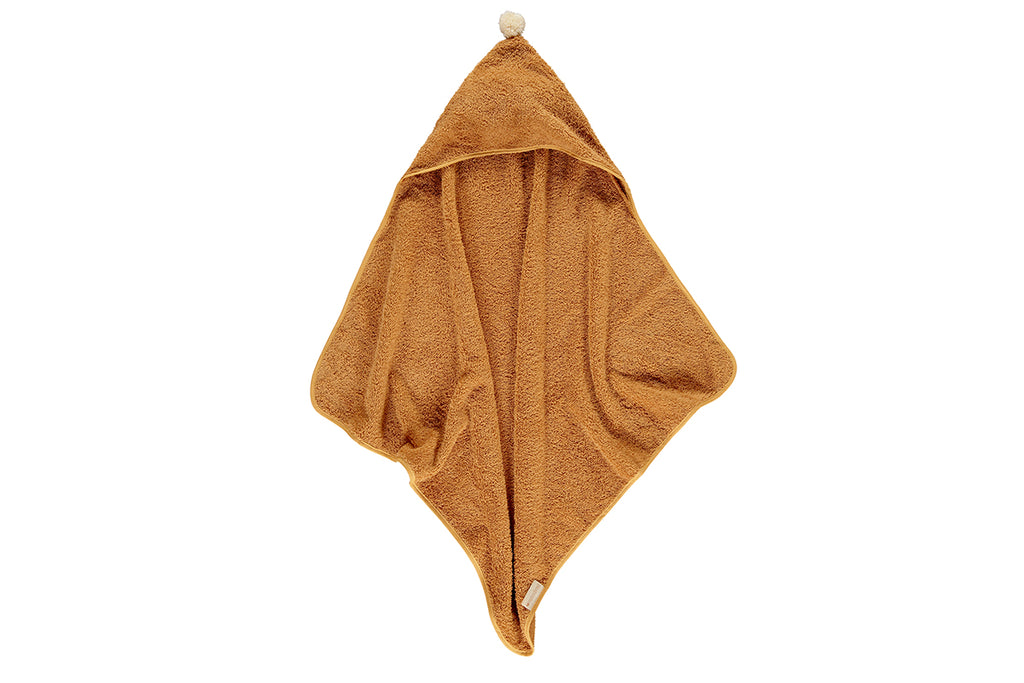 "NOBODINOZ - Bath towel ""So Cute"" caramel"