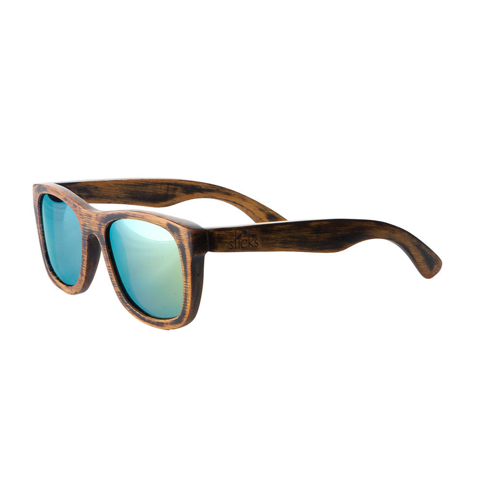 447a7c1334 Sticks Nomads are handcrafted wooden sunglasses with dark stain and ...
