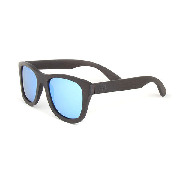 The Nomad style from Sticks Wooden Sunglasses with Ice lenses