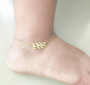 Year Anklet