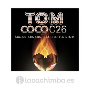 Carbón Tom Cococha C26 6 pastillas