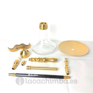 Mr Shisha Mini Legend Gold