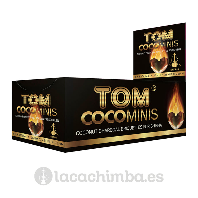 Carbón Tom Cococha Gold Mini 9 pastillas