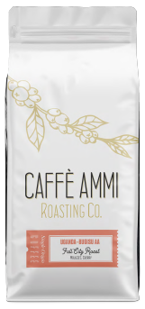 Uganda Bugisu AA <BR>Full City Roast <BR>Molasses, Cherry <BR>5lb