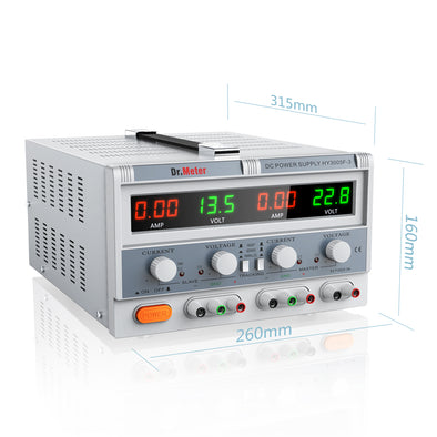 Triple Linear DC Power Supply, HY3005F, Dr.meter