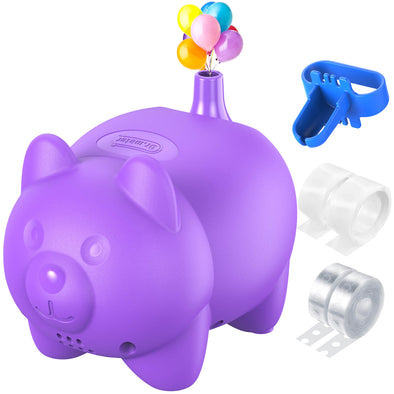 Electric Balloon Pump, Purple, Dr.meter