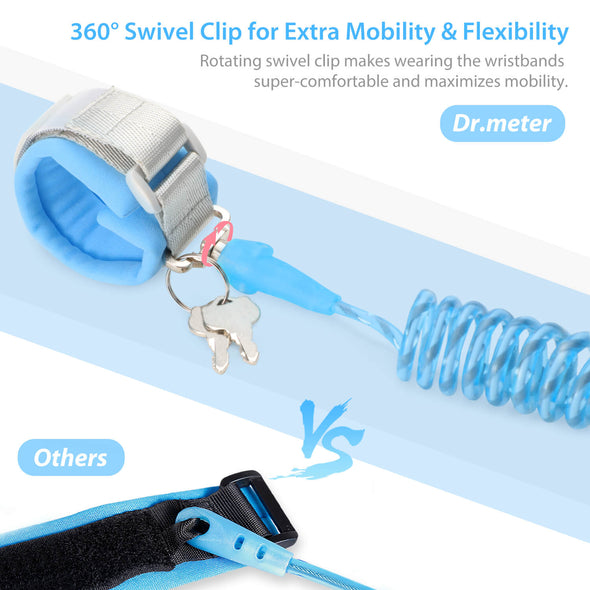 Toddler Leash,  Anti Lost Wrist Link, Dr.meter