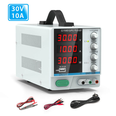 30V/ 10A Bench Power Supply