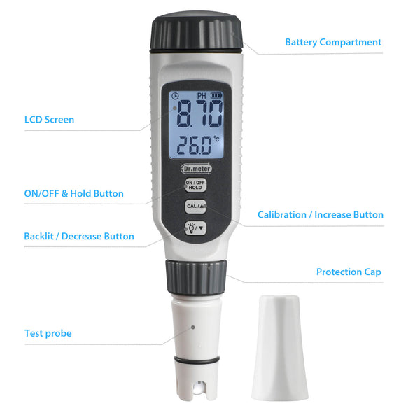 Upgraded pH meter, PH838, Dr.meter