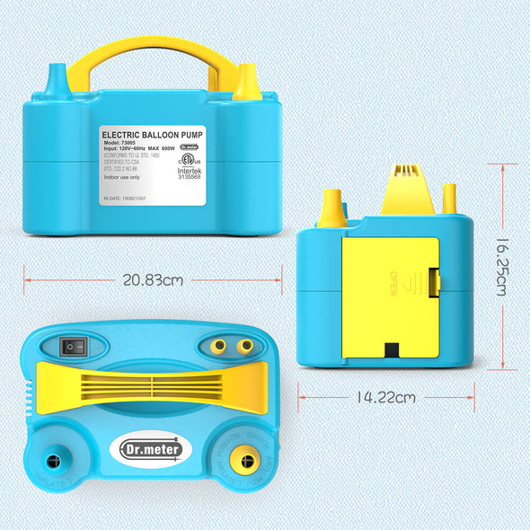 Air Balloon Pump, Blue, Dr.meter