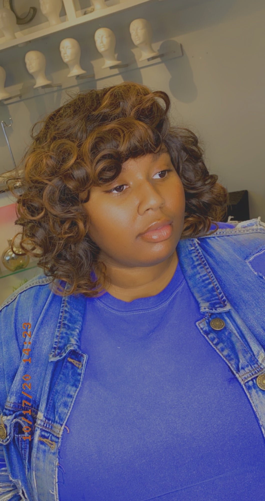 Synthetic Bounce Curl Wig (4/30)