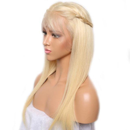 Stock Full Lace 613 Straight Wig