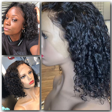 Deep Wave Frontal Wig